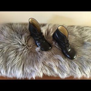 John Fluevog ankle boots.